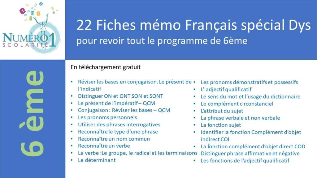 Telecharger Des Exercices De Francais Gratuitement Exercices Et Lecons De Francais 6eme Gratuits A