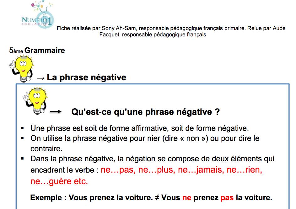 Exemple De Phrase Affirmative En Anglais - Exemple de Groupes