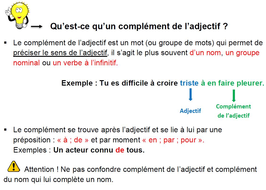 4eme Grammaire Lecon Et Exercices Les Complements De L